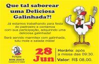 Leia mais:Festa do Padroeiro - Galinhada