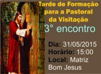 Leia mais:Formação - Pastoral da Visitação