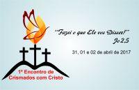 Leia mais:1° Encontro de Crismados com Cristo