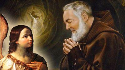 Padre Pio angelo Reni media