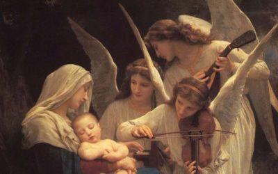 pintura anjos